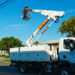 Bucket Truck - Double insulation